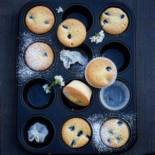 Bestemors blåbærmuffins