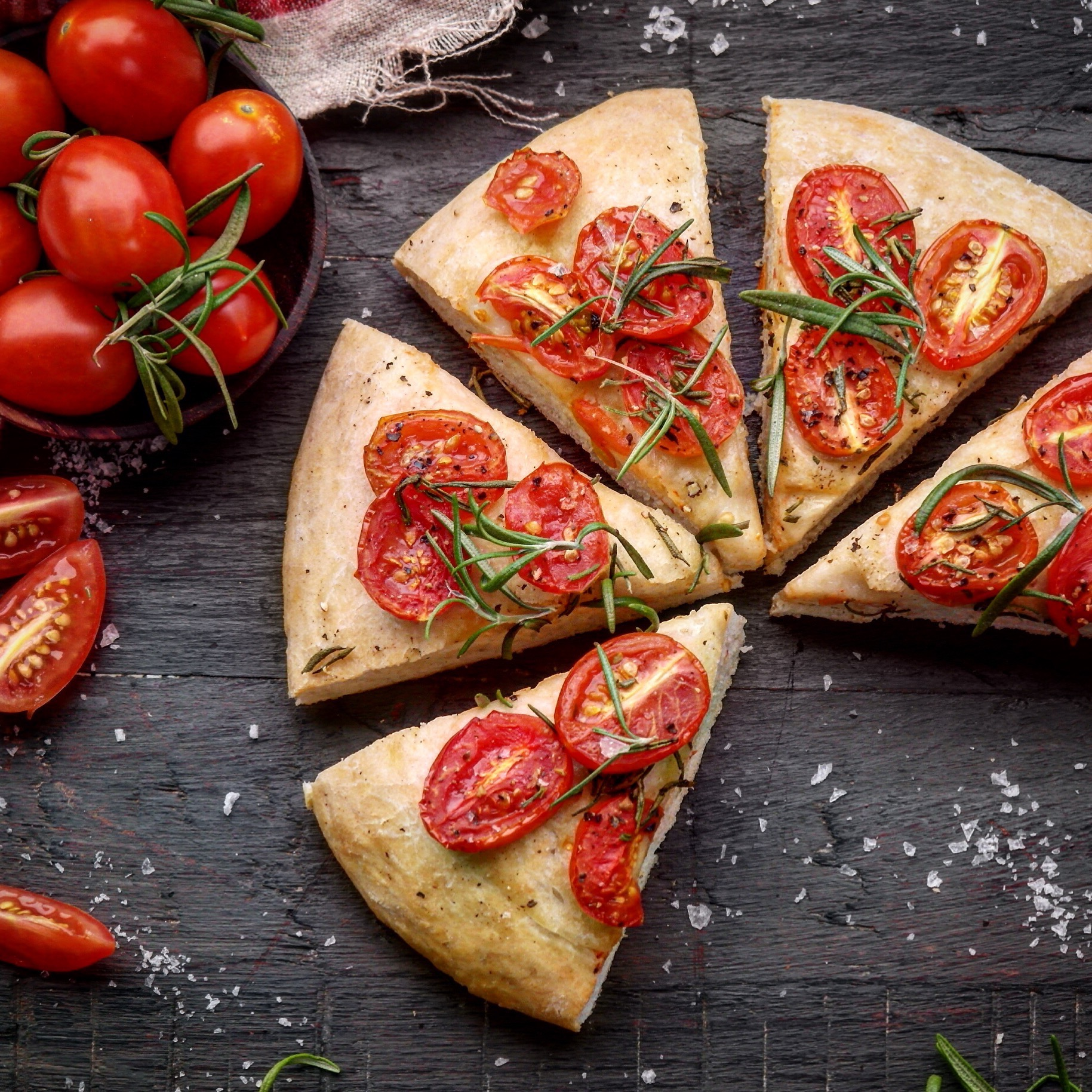 enkelt tomatbrød