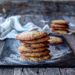 Cookies med appelsin og melkesjokolade