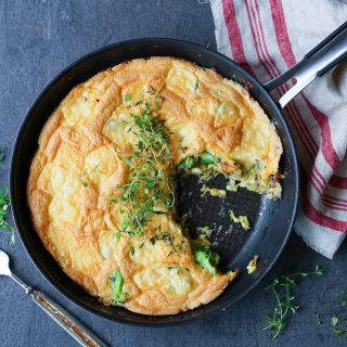 Luftig omelett